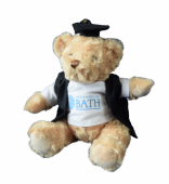 Graduation Bear with Gown and T-Shirt